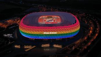 Már 50 ezren követelik, hogy szivárványos stadion fogadja a magyarokat Münchenben