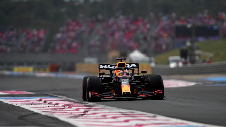 Verstappen erőből, a pályán nyerte meg a Francia Nagydíjat