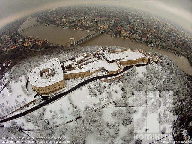 Amikor látni a hóhatárt Budapesten.