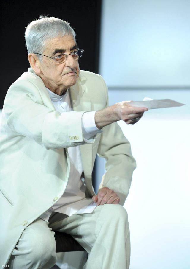 Kézdy György az Esőember próbáján 2010-ben