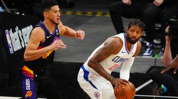 Booker élete teljesítményével előnyben a Phoenix Suns