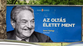 Soros György plakáton állítja: az oltás életet ment