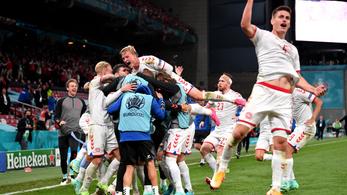 Nyolcaddöntőt ért a dán henger Oroszország ellen