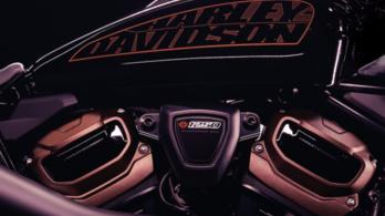 Új Harley épül a Revolution Max blokk köré
