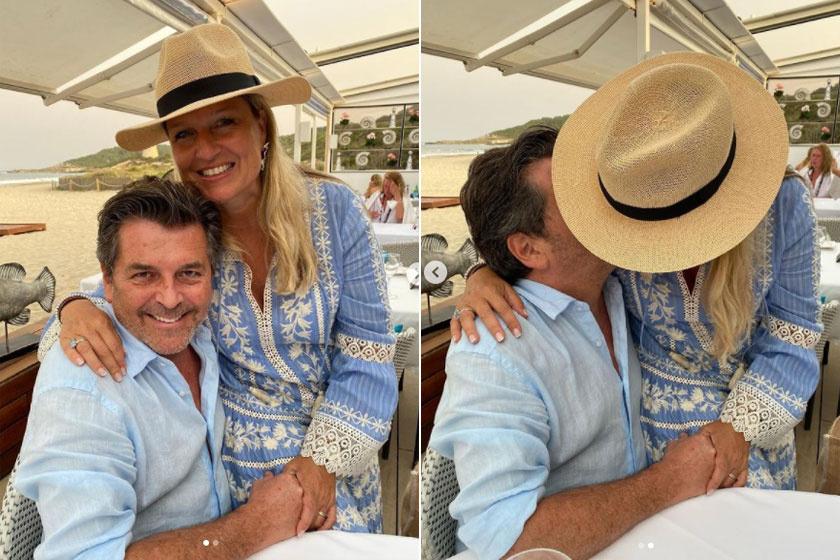 Thomas és Claudia több évtizednyi együttlét után is fülig szerelmesek egymásba.