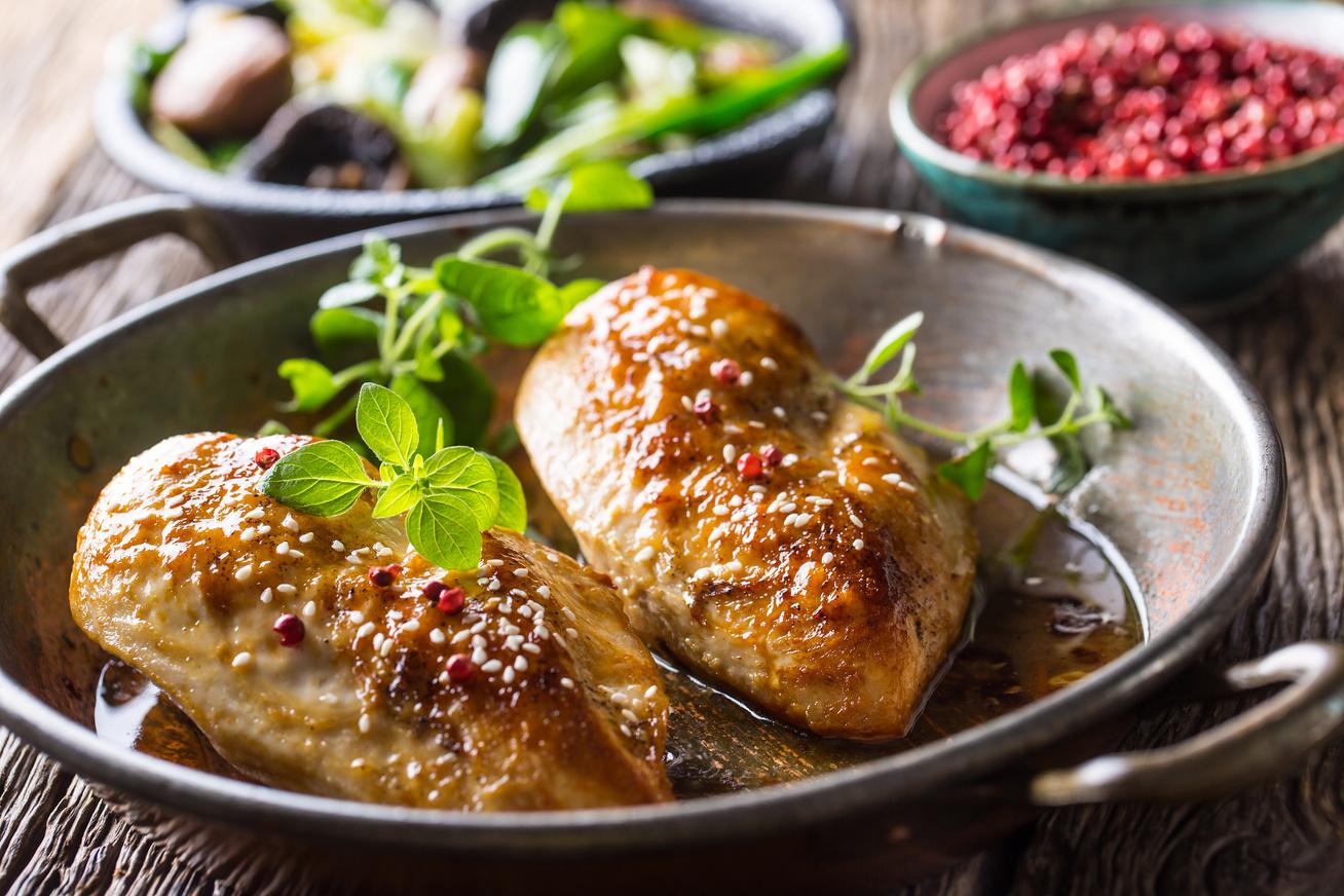 fokhagymas csirke