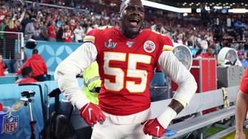 Illegális fegyverbirtoklás miatt tartoztatták le az NFL-játékost