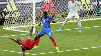 A franciák visszavágnának a portugáloknak az Eb-döntőért