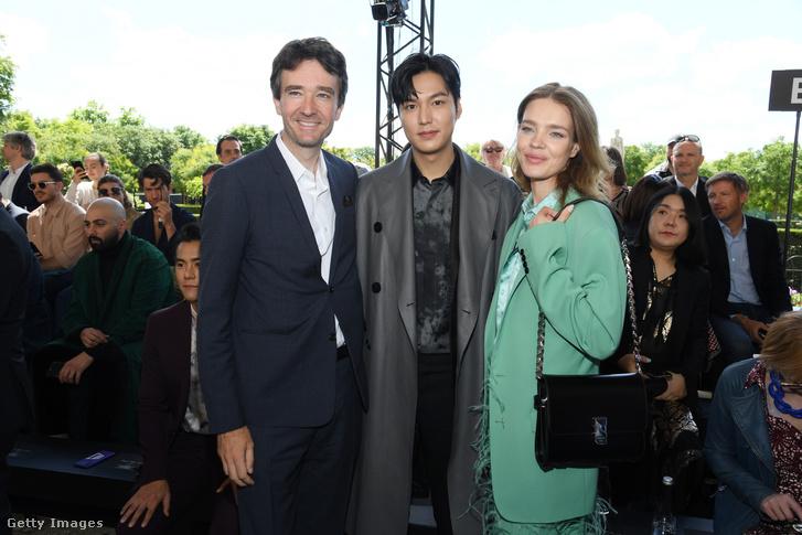 Antoine Arnault, Lee Min Ho ésNatalia Vodianova