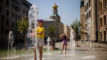 Oroszországban 104 éve nem volt ilyen meleg