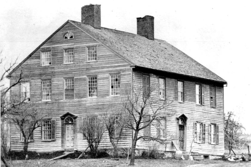 Jemima Wilkinson háza, mely ma is áll.