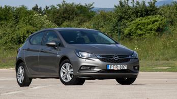 Használtteszt: Opel Astra 1.4 Selection - 2017.