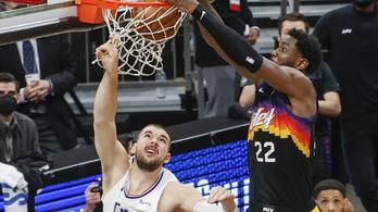 Zseniális játékkal győzött a Suns az NBA főcsoportdöntőjében – videó