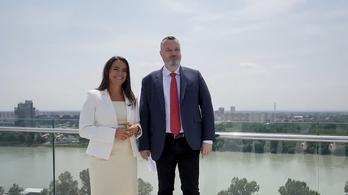 Novák Katalin Pozsonyban: Magyarország példa Szlovákia számára