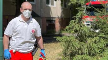 Mentők oltották a lángokat Szegeden
