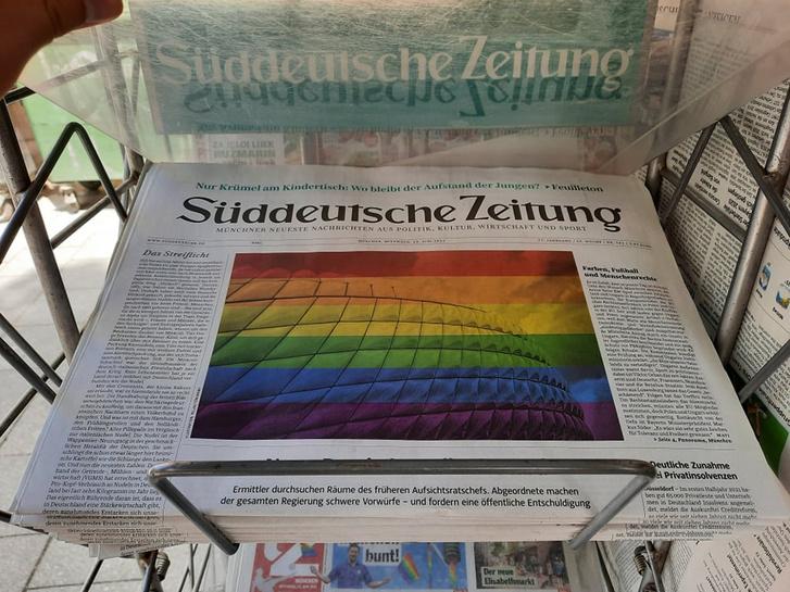 A szerdai Süddeutsche Zeitung