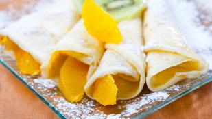 Narancsos-vaníliás palacsinta – isteni nyári desszert, amit nagyon egyszerűen összedobhatsz