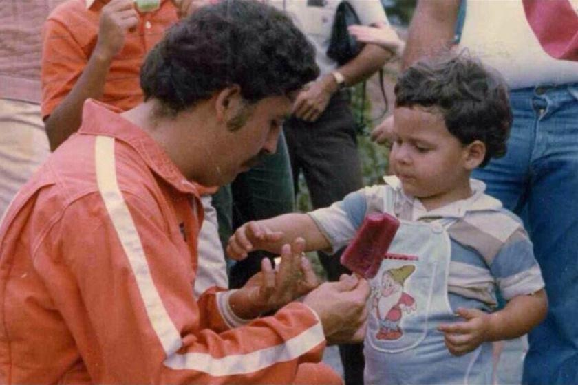 1979-es fotó Juan Pablo Escobarról.