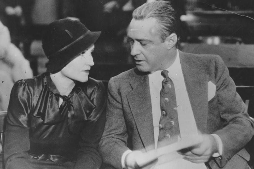Kathryn és Kelly a tárgyaláson, 1933-ban.