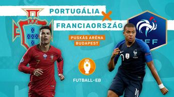 Portugál–francia rangadó a Puskás Arénában