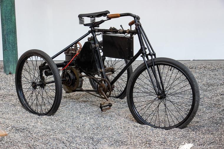 Ilyen tricikli több futott Magyarországon is