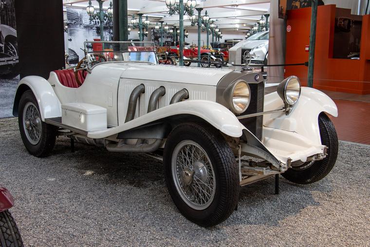 Egy igazi legenda, egy Mercedes SSK 1929-ből