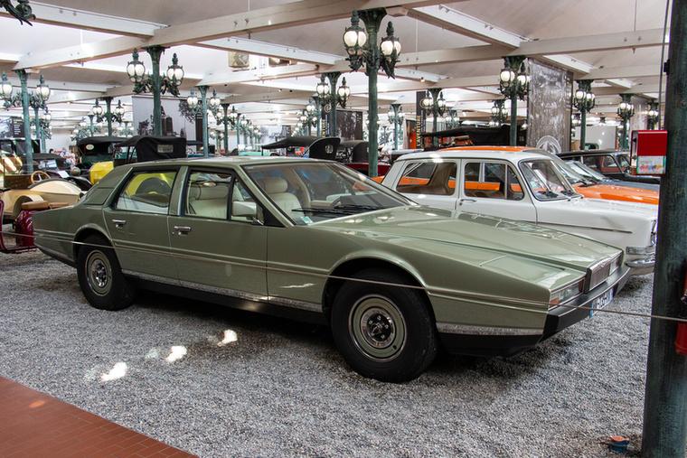 Azért a Lagonda motorja sem volt piskóta