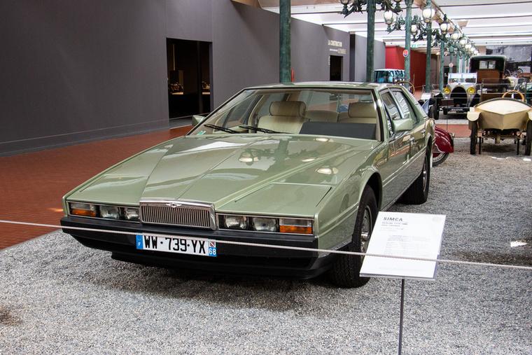 Korának második legdrágább autója volt a Rolls-Royce Corniche után az Aston Martin Lagonda második generációja