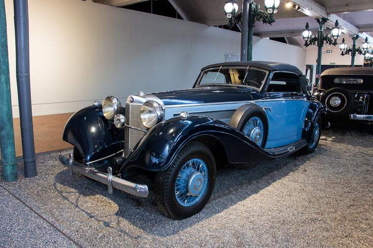 A Mercedes 540 K típusa nem arról a leghíresebb, hogy szép és jó autó (amúgy az), hanem arról, hogy ez a típus volt Hermann Göring egyik kedvence