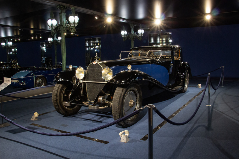Ki másról lehetne elnevezve ez a Royale, azaz királyi melléknevű Bugatti 41-es Coupé, mint a franciák szeretett császáráról, Napóleonról