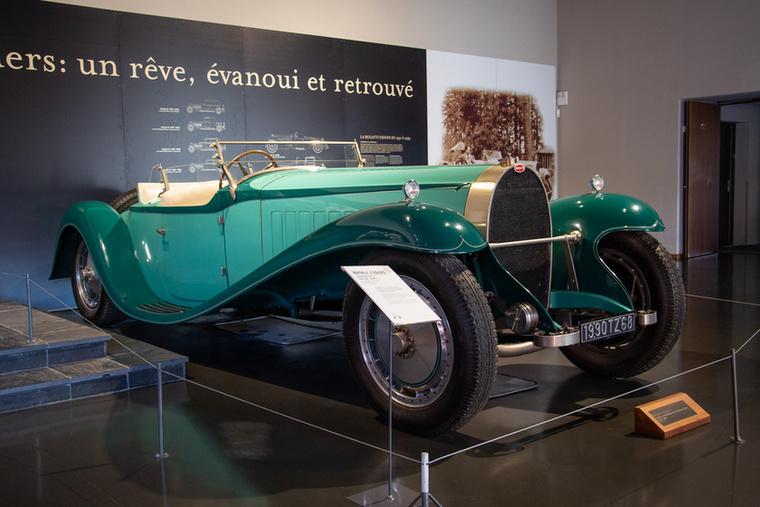 Ez egy ráadás Bugatti Royale, nem tagja ugyanis a hat fennmaradtnak