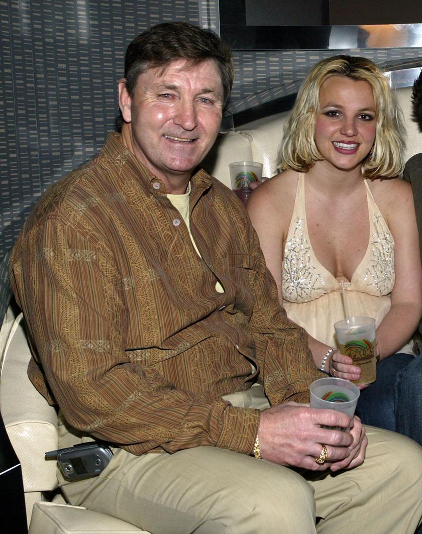Britney Spears és apja 2006-ban.