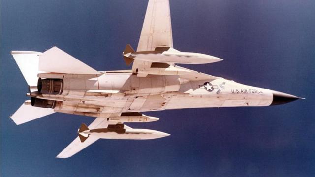 A stratégiai atombombázó F-111 változat