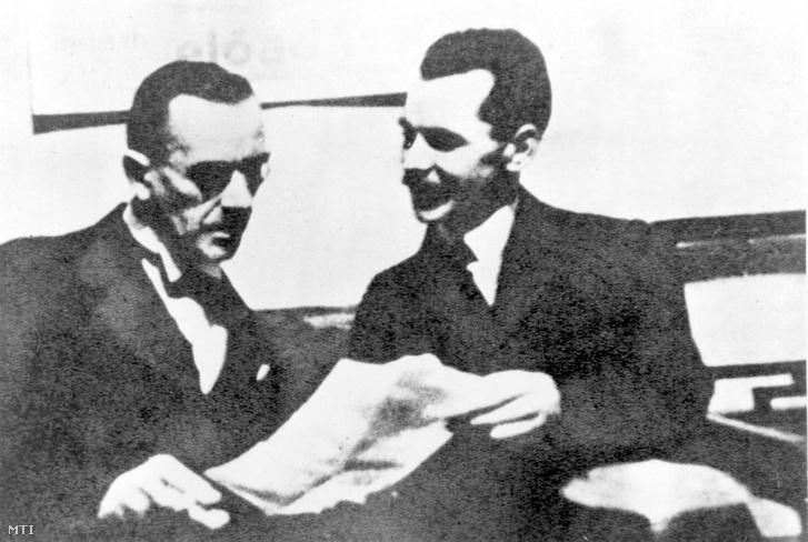 József Attila és Thomas Mann 1937-ben
