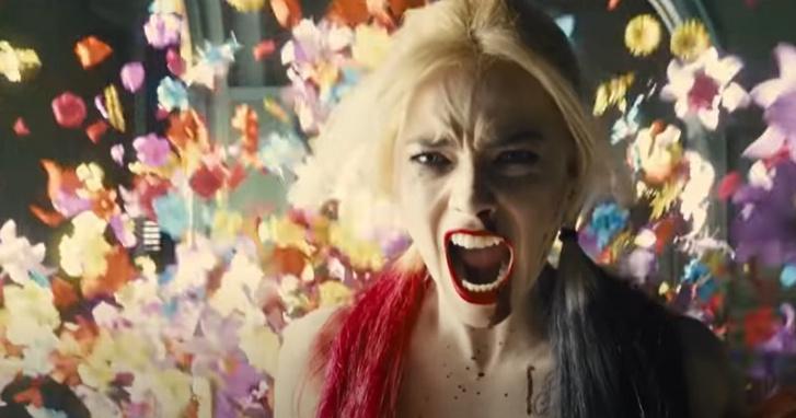 Harley Quinn, azaz Margot Robbie a The Suicide Squad legújabb előzetesében.