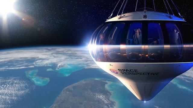 Ballonnal a világűr peremére