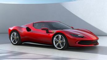 Bemutatták az új V6-os Ferrarit