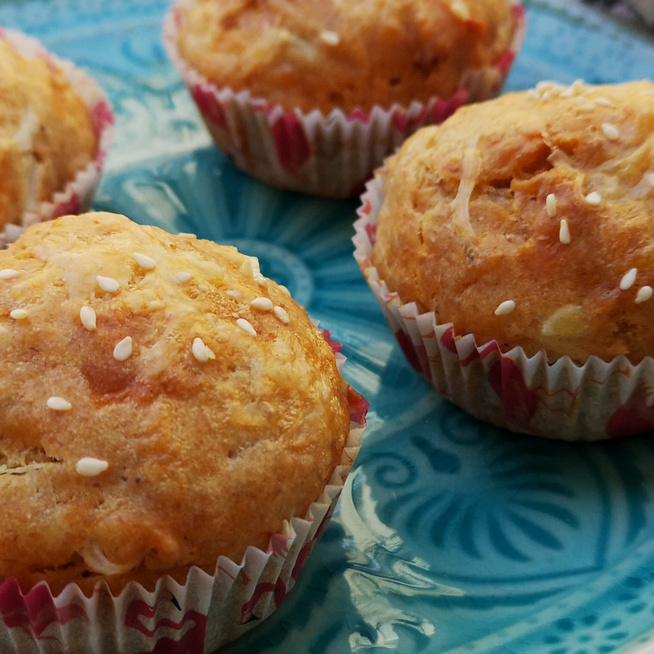 Sós muffin kolbásszal a tésztájában – Sajttal sütve lesz igazán finom