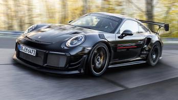 Újra egy Porsche a leggyorsabb rendszámos autó a Nürburgringen