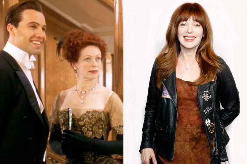 Szinte hihetetlen, de a két kép között 23 év telt el. Frances Fisher a 2020-as Casting Society Of America's Artios Awardson csak úgy ragyogott.