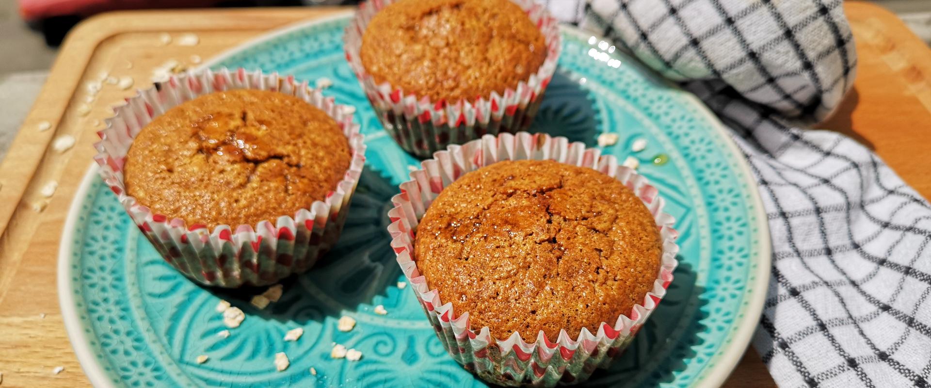 mézes zablisztes muffin cover