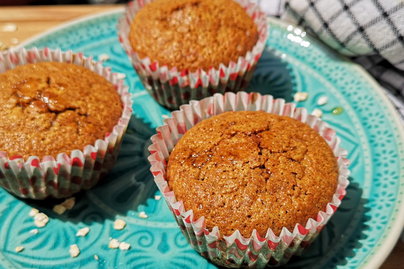 Rostdús, puha muffin zablisztből – Méztől lesz igazán omlós a tészta