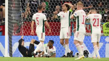 Az egyik angol lapnál a magyar válogatott az Európa-bajnokság legerősebb kiesője