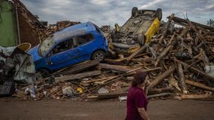 Tornádó után – olyan a cseh kórház, mintha háború robbant volna ki