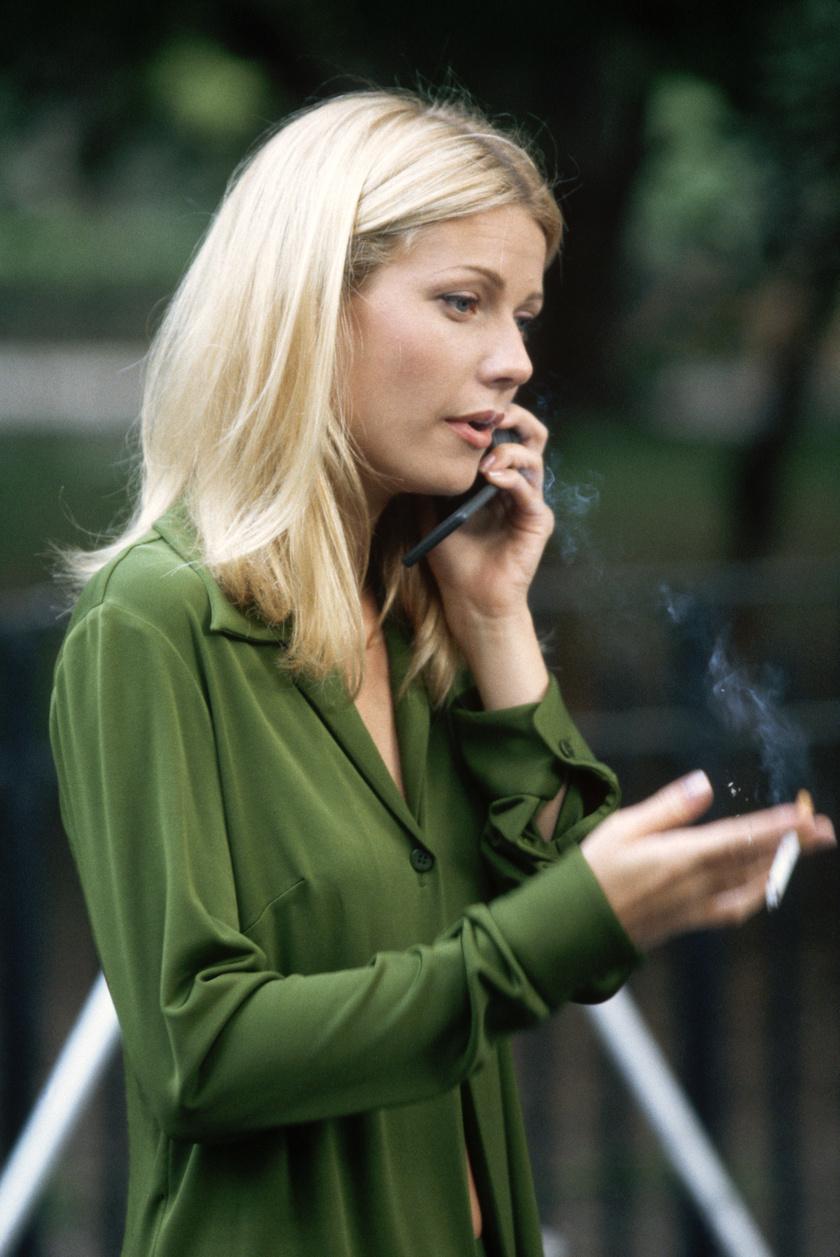 Gwyneth Paltrow dohányzik