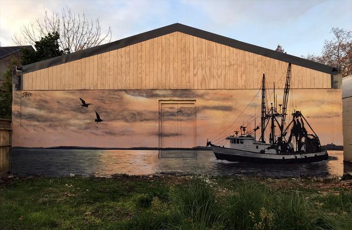 Halászhajó, Új-Zéland