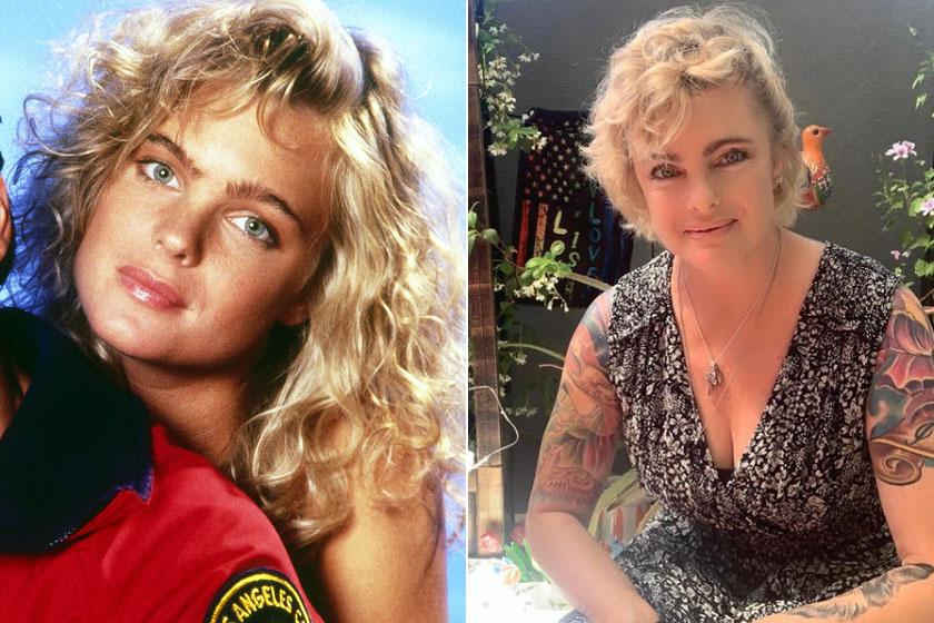 Erika Eleniak sokat változott az elmúlt években, haját rövidebbre vágatta, emellett tetoválásai is lettek.