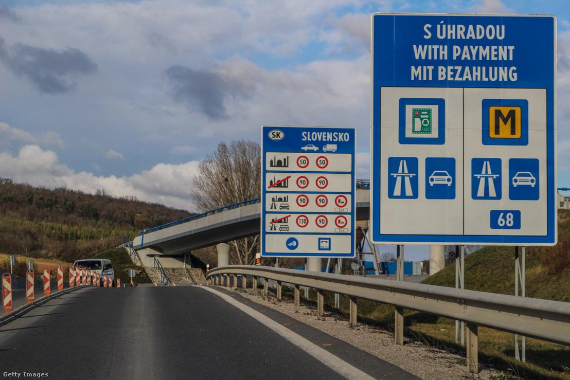 Magyar-szlovák határátkelőhely