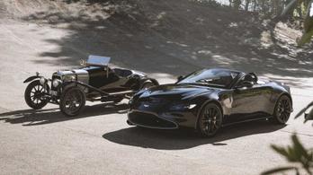 A legkorábbi Aston Martin ihlette a legújabbat