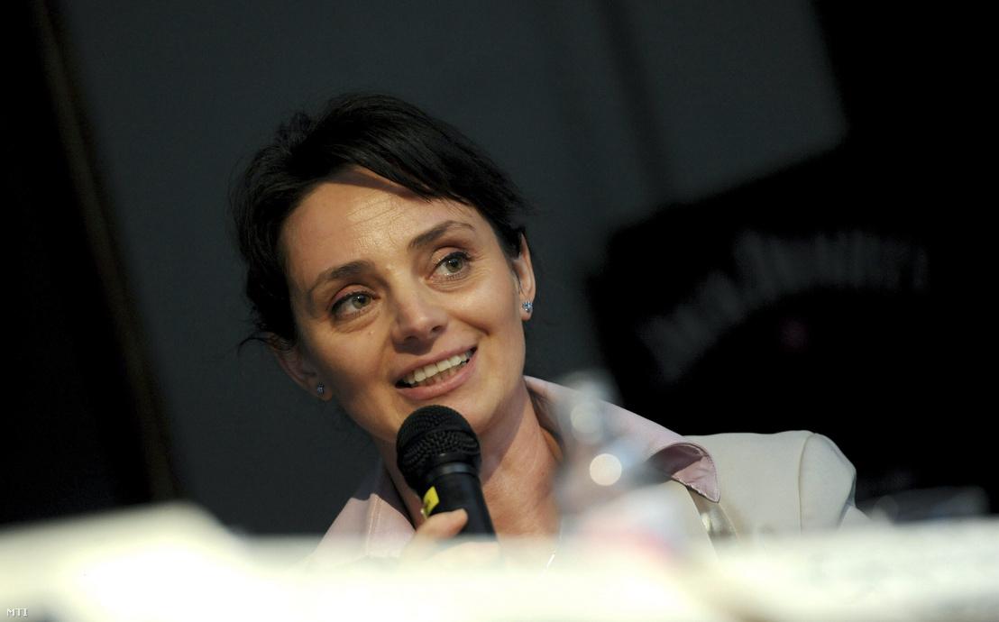 Langerné Victor Katalin társadalmi felzárkózásért felelős államtitkár 2013. április 12-én a Felelősen a cigány-magyar együttélésről címmel megrendezett konferenciáján